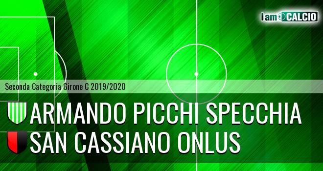 Armando Picchi Specchia - San Cassiano Onlus