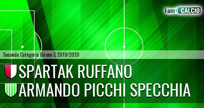Spartak Ruffano - Armando Picchi Specchia