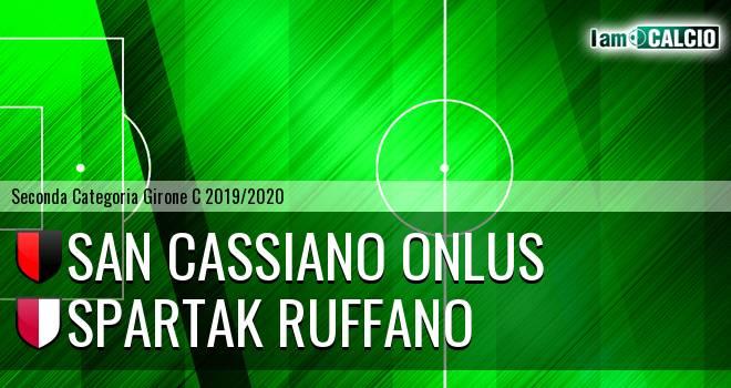 San Cassiano Onlus - Spartak Ruffano
