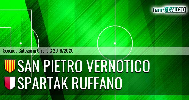 San Pietro Vernotico - Spartak Ruffano