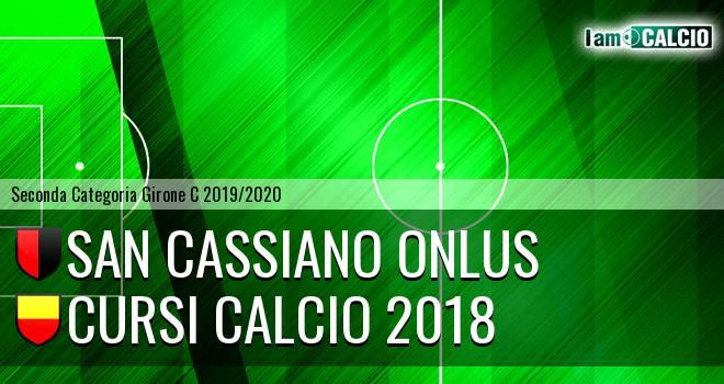 San Cassiano Onlus - Cursi Calcio 2018