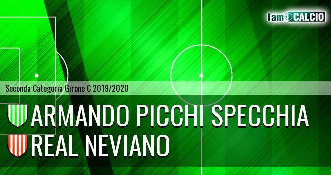 Armando Picchi Specchia - Real Neviano