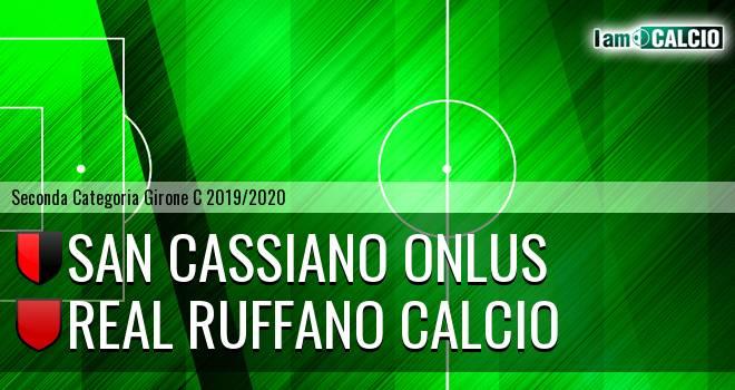 San Cassiano Onlus - Real Ruffano Calcio