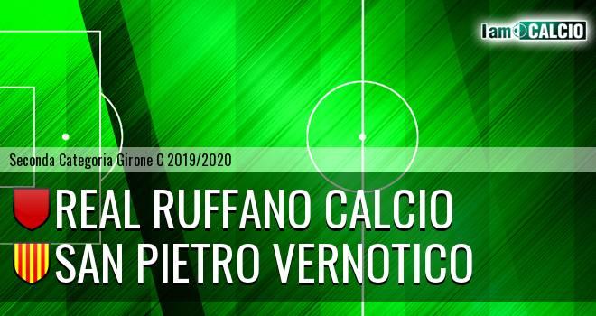 Real Ruffano Calcio - San Pietro Vernotico