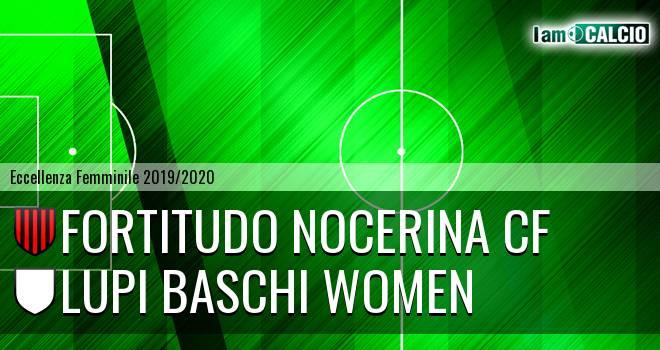 Fortitudo Nocerina Cf - Lupi Baschi Women