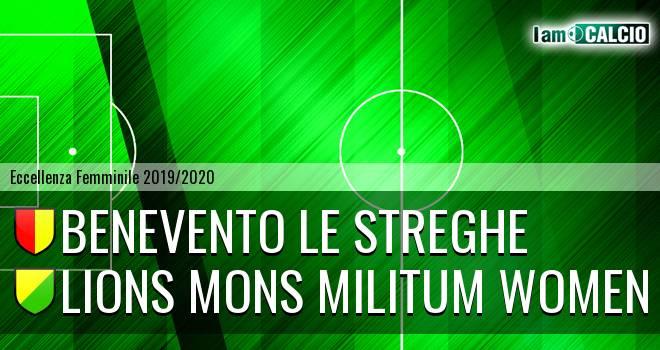Benevento Le Streghe - Lions Mons Militum Women