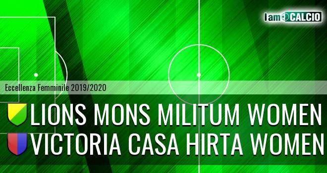 Lions Mons Militum Women - Victoria Casa Hirta Women