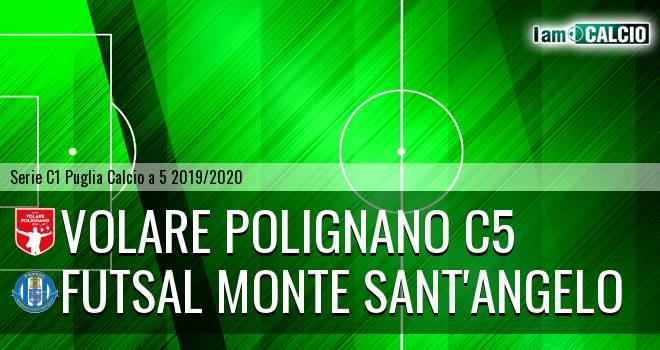 Volare Polignano C5 - Futsal Monte Sant'Angelo