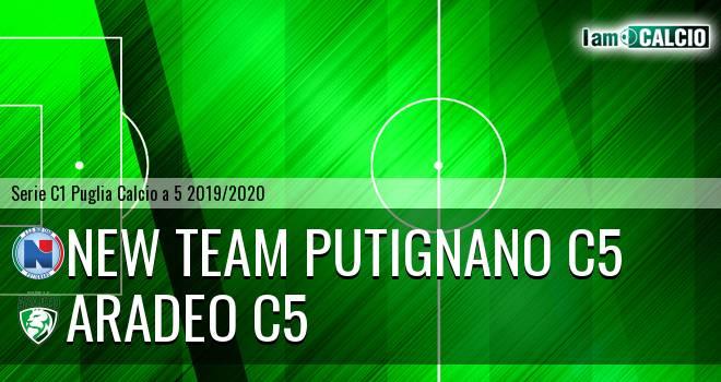 New Team Putignano C5 - Aradeo C5