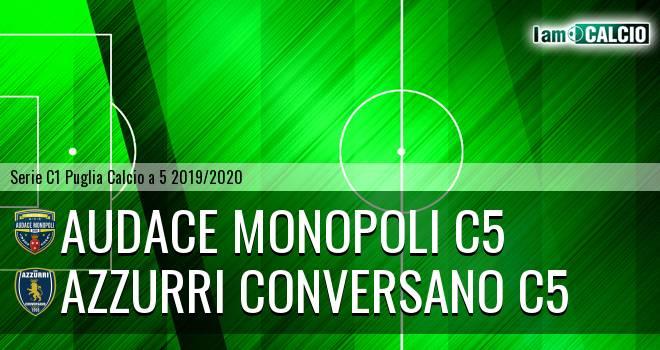 Audace Monopoli C5 - Azzurri Conversano C5