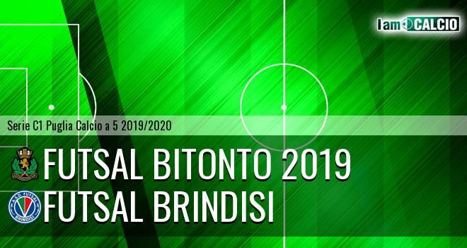 Futsal Bitonto 2019 - Futsal Brindisi