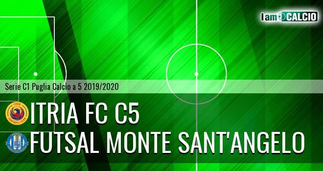 Itria FC C5 - Futsal Monte Sant'Angelo