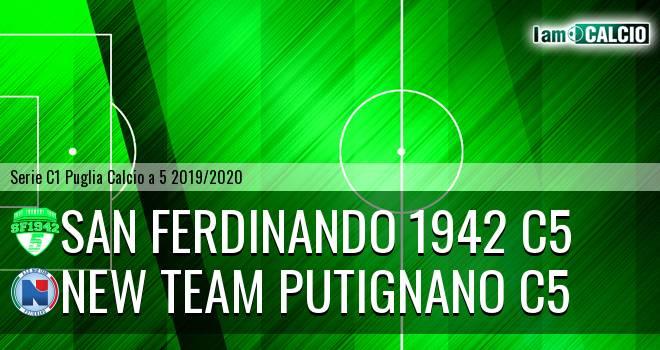 San Ferdinando 1942 C5 - New Team Putignano C5