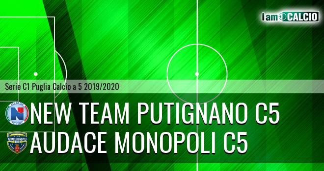 New Team Putignano C5 - Audace Monopoli C5