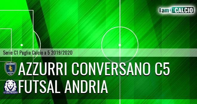 Azzurri Conversano C5 - Futsal Andria