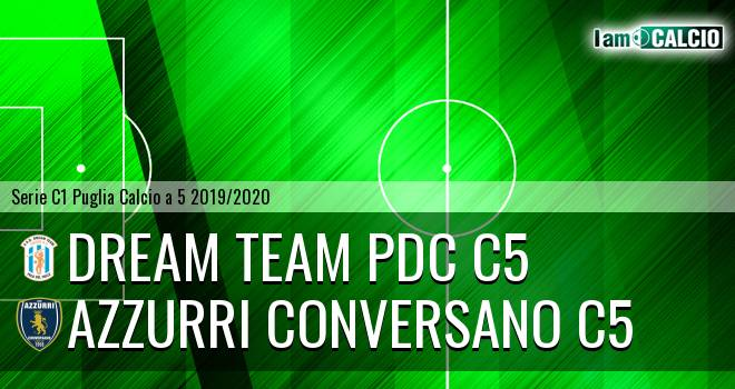 Dream Team PdC C5 - Azzurri Conversano C5