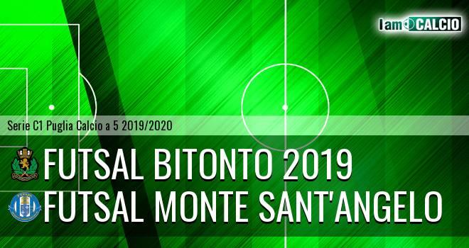 Futsal Bitonto 2019 - Futsal Monte Sant'Angelo