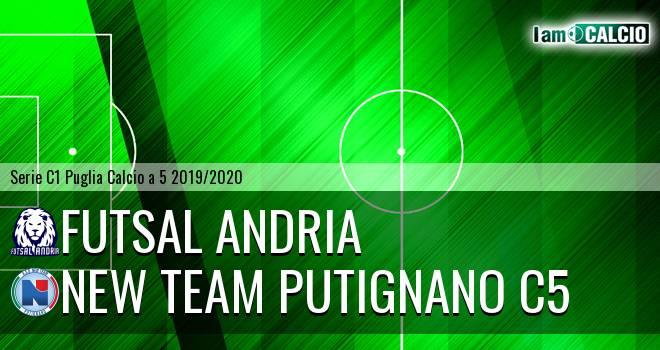 Futsal Andria - New Team Putignano C5