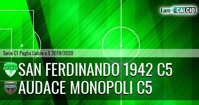 San Ferdinando 1942 C5 - Audace Monopoli C5