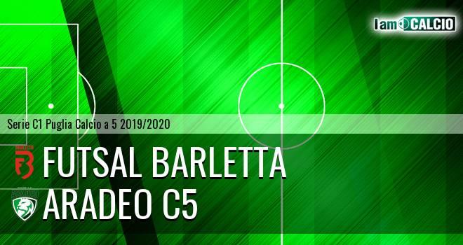 Futsal Barletta - Aradeo C5