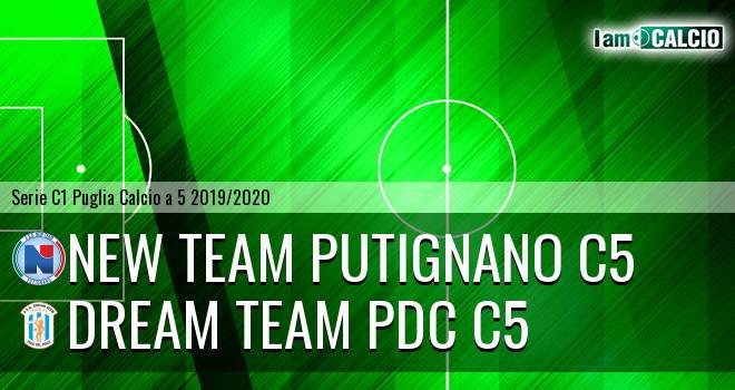 New Team Putignano C5 - Dream Team PdC C5