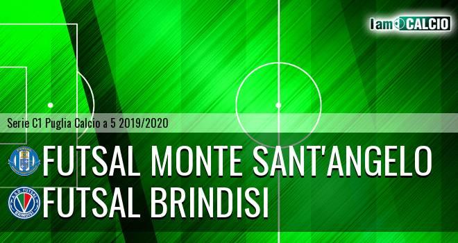 Futsal Monte Sant'Angelo - Futsal Brindisi