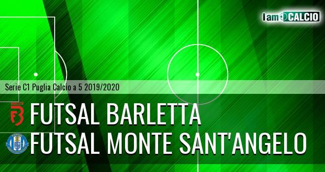 Futsal Barletta - Futsal Monte Sant'Angelo