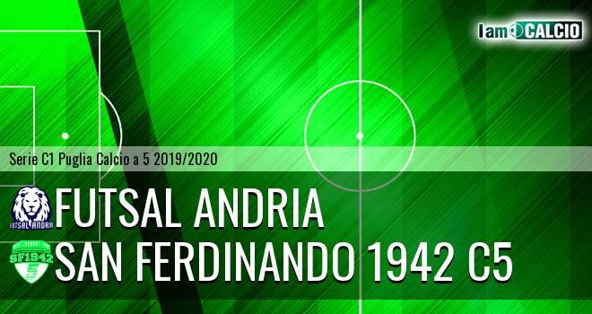 Futsal Andria - San Ferdinando 1942 C5