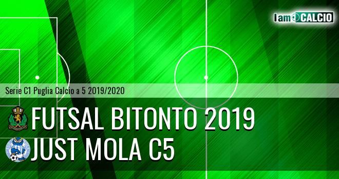 Futsal Bitonto 2019 - Just Mola C5