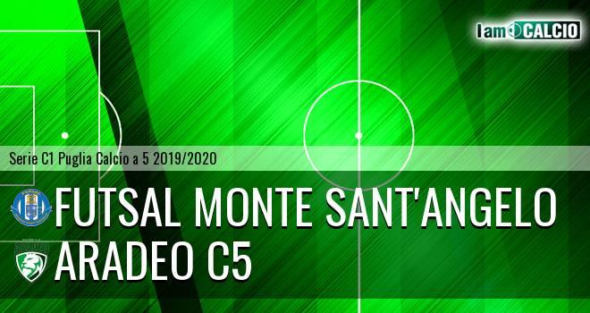 Futsal Monte Sant'Angelo - Aradeo C5