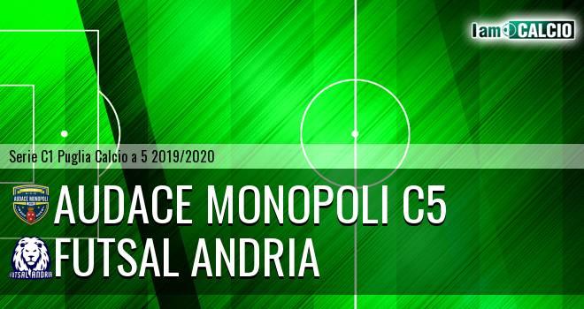 Audace Monopoli C5 - Futsal Andria