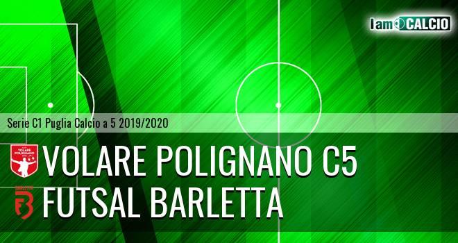 Volare Polignano C5 - Futsal Barletta