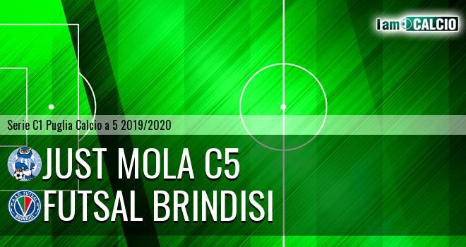 Just Mola C5 - Futsal Brindisi