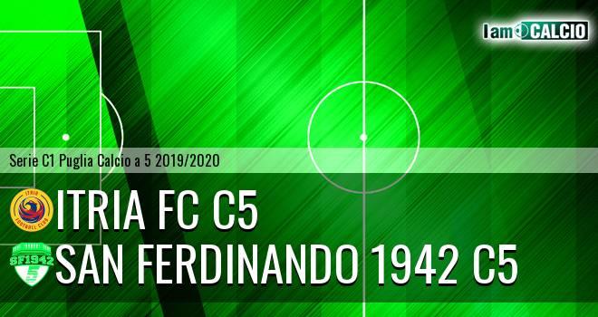Itria FC C5 - San Ferdinando 1942 C5