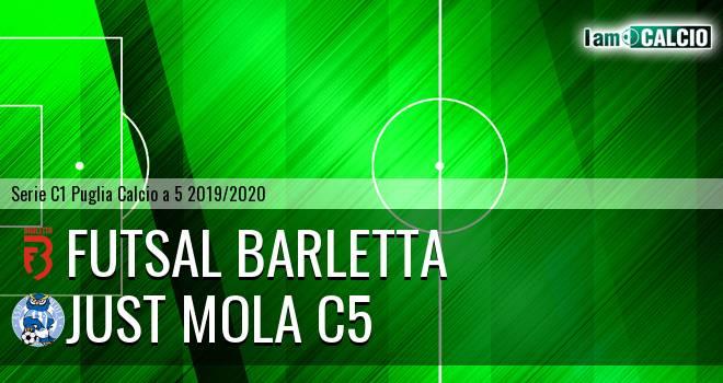 Futsal Barletta - Just Mola C5