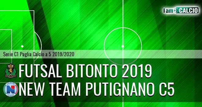 Futsal Bitonto 2019 - New Team Putignano C5