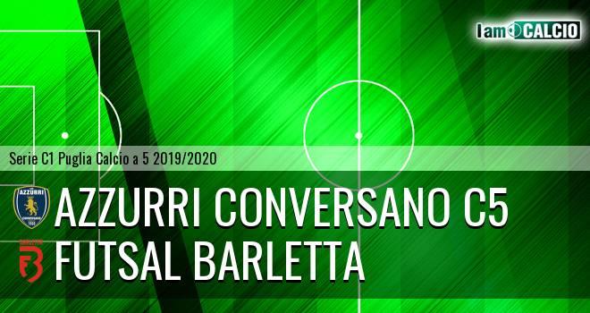 Azzurri Conversano C5 - Futsal Barletta