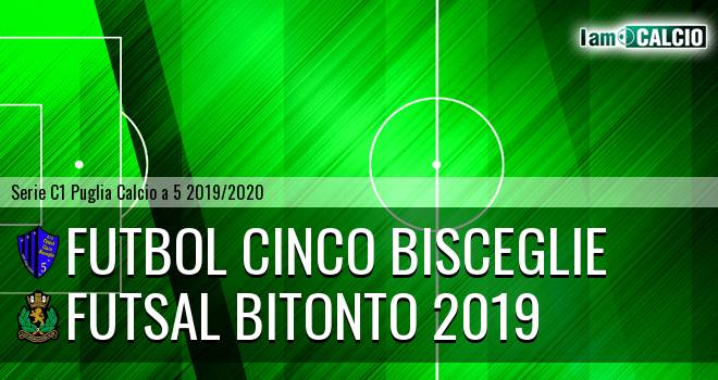 Futbol Cinco Bisceglie - Futsal Bitonto 2019