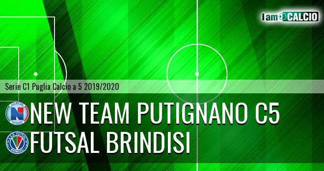 New Team Putignano C5 - Futsal Brindisi