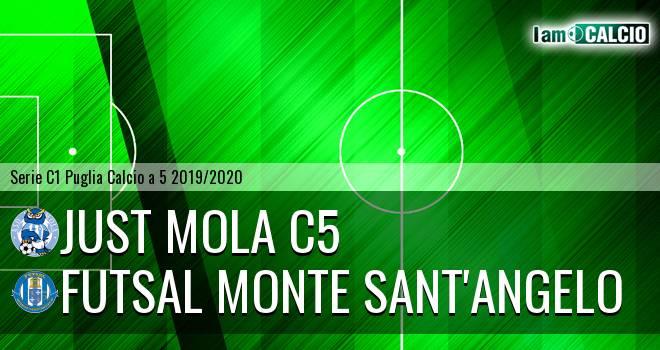Just Mola C5 - Futsal Monte Sant'Angelo