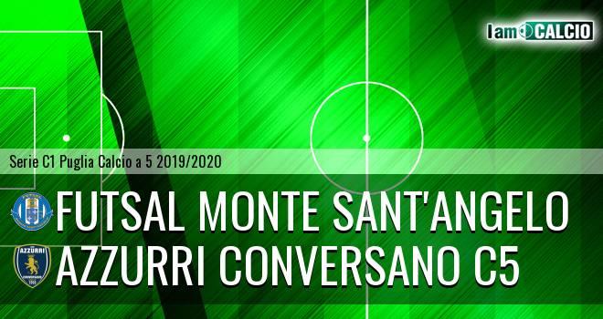 Futsal Monte Sant'Angelo - Azzurri Conversano C5