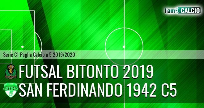 Futsal Bitonto 2019 - San Ferdinando 1942 C5