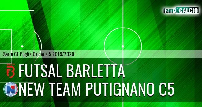 Futsal Barletta - New Team Putignano C5