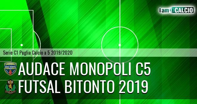 Audace Monopoli C5 - Futsal Bitonto 2019
