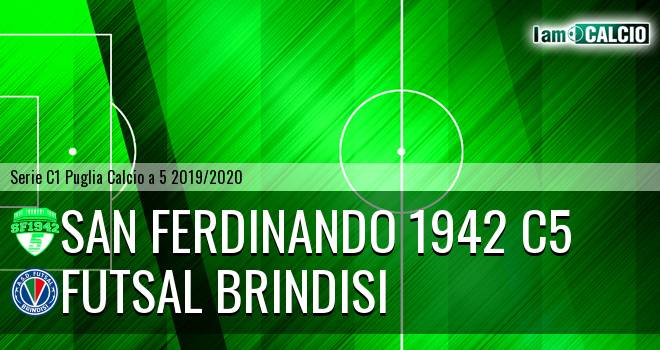 San Ferdinando 1942 C5 - Futsal Brindisi