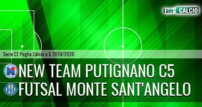 New Team Putignano C5 - Futsal Monte Sant'Angelo
