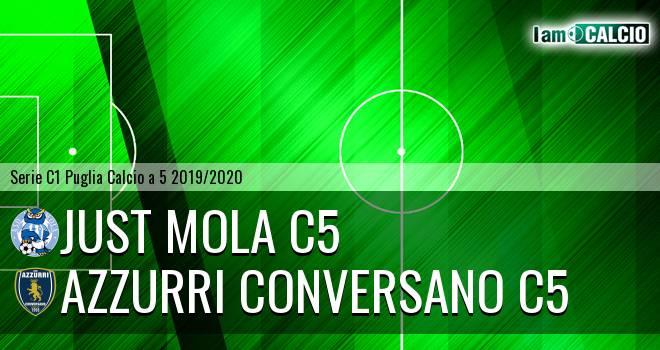 Just Mola C5 - Azzurri Conversano C5