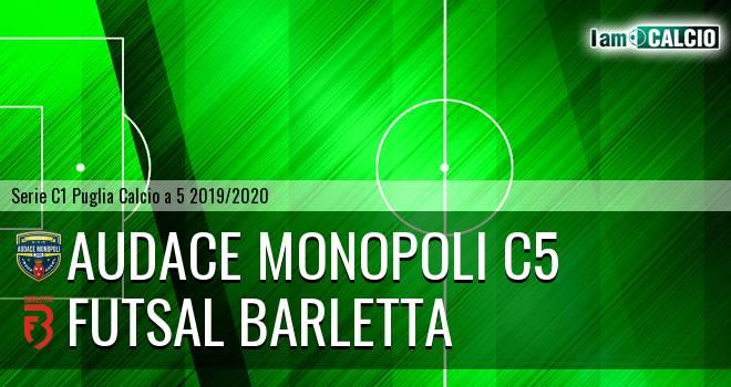 Audace Monopoli C5 - Futsal Barletta