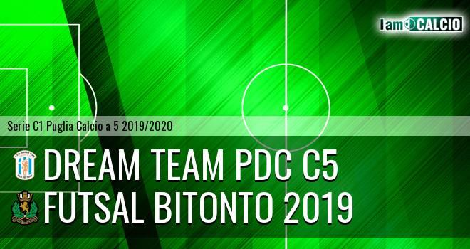 Dream Team PdC C5 - Futsal Bitonto 2019