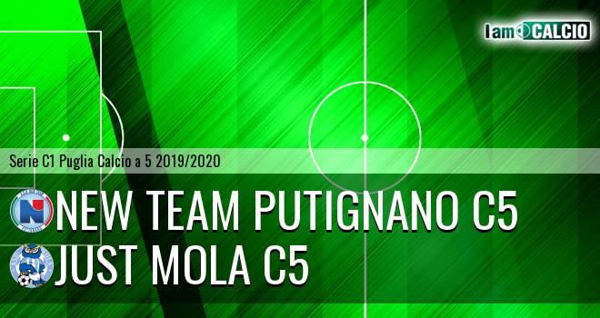 New Team Putignano C5 - Just Mola C5